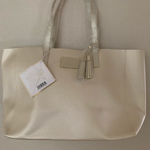 Michael Kors Gold Sparkly Large Tote